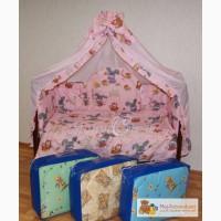 Комплект в детскую кроватку (7 предметов в Уфе