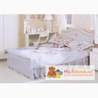 Кровать для девочки белая итальянской фабрики Paoli, Россошь