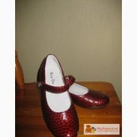 Бордовые туфли для девочки в Калининграде