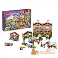 Новый конструктор LEGO Friends 3185 Школа верховой езды для девочек на Новый год!