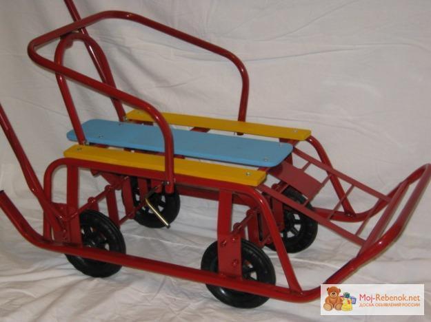 Санки с колесами купить - Всё о товарах IB92