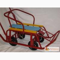 Санки с колесами-универсани
