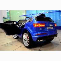 Детский электромобиль с пультом управления Audi