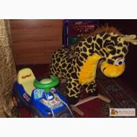 Жираф-качалка, автомобиль-каталка в Новокузнецке