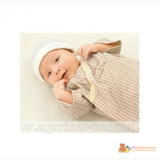 Combimini- детская японская одежда COMBIMINI Платье - пелёнка в Москве