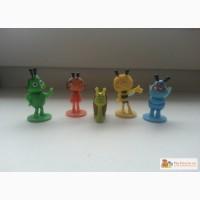 5 игрушек пчелки майи из киндеров в Калининграде