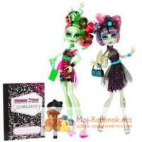 Куклы Монстер Хай Танцы зомби Венера и Рошель