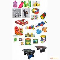 Оборудование. Игрушки для детской игровой комнаты