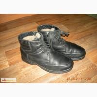 Зимние кожаные ботинки на мальчика 37 р- Юничел в Челябинске