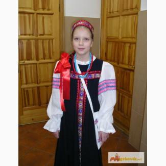 Русский народный сценический костюм Сшитый на заказ в Калининграде