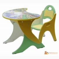 Регулируемый по высоте столик Капелька и стульчик