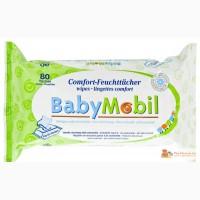 Влажные салфетки Baby Mobil в Москве