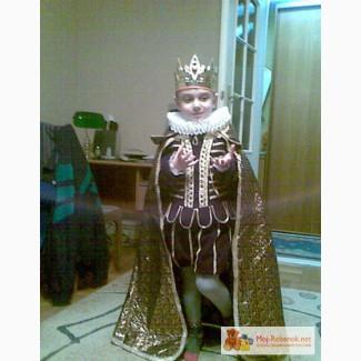 Новогодний костюм для мальчика своими руками шахматный король