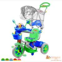 Велосипед трехколёсный пластиковый Fami Rich Toys Family в Москве