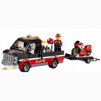 LEGO City. Перевозчик гоночных мотоцикло в Хабаровске