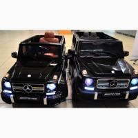 Детский электромобиль гелентваген Mercedes-Benz с пультом управления