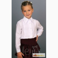 Белую блузку для девочек школа р.152 Valeri (Mevis) в Ростове-на-Дону