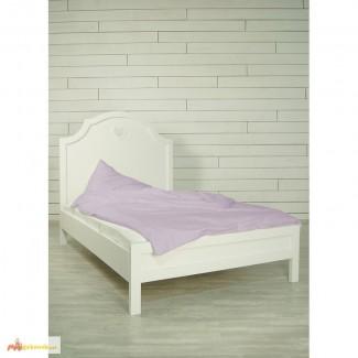 Новая белая кровать для девочки от 2 лет