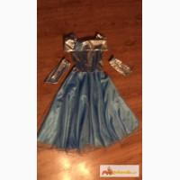 Платье нарядное голубое в Иваново