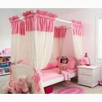 Продам кровать для девочки от 2 лет с балдахином в Москве