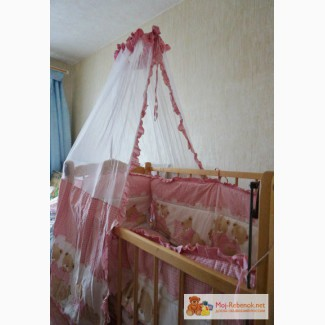 Балдахин + бортики в кроватку в Сыктывкаре