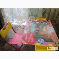Стол-парта со стулом для дошкольников в Красноярске