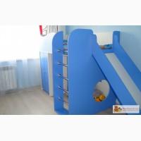 Набор детской мебели (кровать с горкой) изготовлена на заказ на заказ в Омске