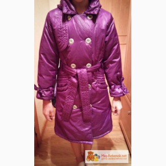 Пальто-плащ демисезонный для девочки КВАРТЕТ МАРГАРИТА в Кемерово