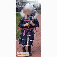 Пальто для девочки кожаное mondial в Челябинске