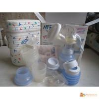 Молокоотсос Avent isis + подарок термос Avent