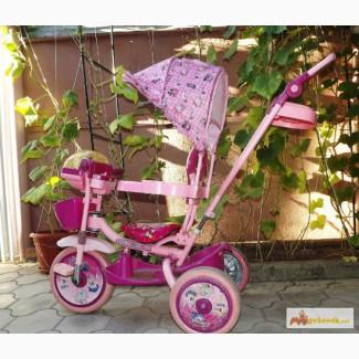 3-колёсныфй велосипед с ручкой в Краснодаре