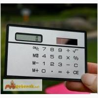Мини калькулятор в бумажник на солнечной в Хабаровске