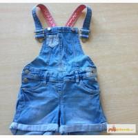 Детские джинсовые шорты-комбинезон в Калининграде