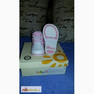 Детские ботиночки осень (новые) baby go 20 размер в Ульяновске