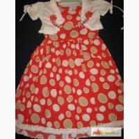 Платье и балеро для девочек 110, 116, 128 Турция в Ростове-на-Дону