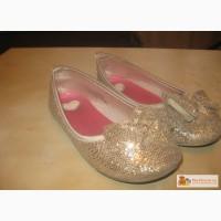 Золотые туфельки на девочку в Ростове-на-Дону