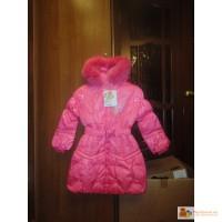 Новое пуховое зимнее пальто Kiko р.128