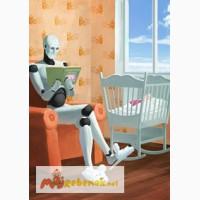 Устройство для автоматического раскачивания детской кроватки - Умный Робот Няня - NaNiNa
