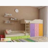 Детская двухъярусная кровать «Астра 6»