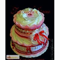 Торт из памперсов подгузников хаггис в Самаре