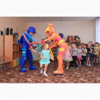 Фиксики, Симка и Нолик на детский праздник Красноярск