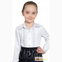 Нарядные белые блузки школа р. 122-152 Valeri (Mevis) в Ростове-на-Дону