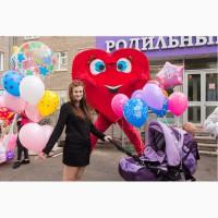 Встреча из роддома, выписка из роддома Красноярск