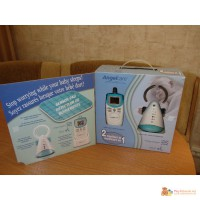 Радионяня AngelCare AC401 + монитор дыхания