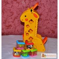 Жираф с кубиками Fisher-Price в Саратове