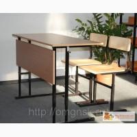 Парта и школьные стулья растущие. в Омске
