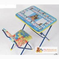 Складная детская мебель стол+стул в Москве