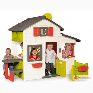 Детские игровые домики, горки, качели в Москве