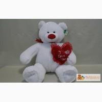 Большой -Новый медведь белый со стразой в Ижевске