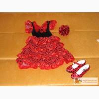 Платье и туфли Фламенко